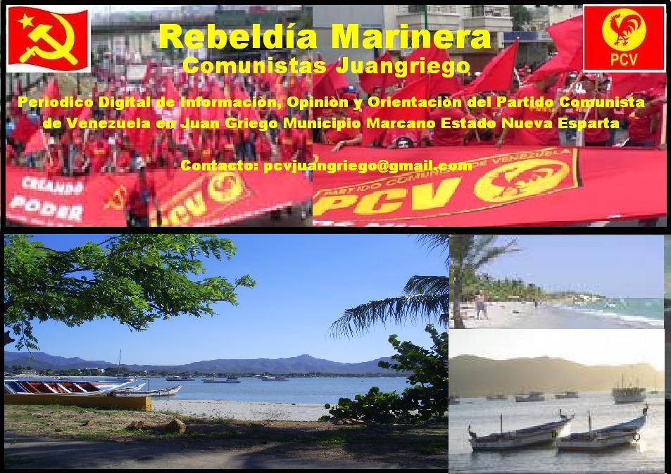 Rebeldía Marinera Comunistas Juangriego