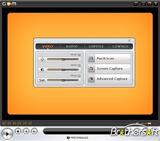 مشغل جميع انواع الفيديو Gom Player 2.1.28 اخر نسخه