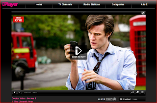 Matt Smith (the new Doctor Who)