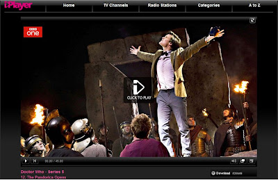 The Pandorica Opens (Doctor Who graphic from bbc.co.uk/iplayer)
