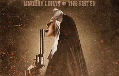Lindsay Lohan as gun-loving-nun in Machete
