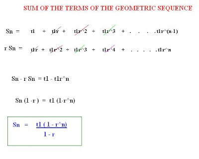 sum of 100 terms in a sequence
