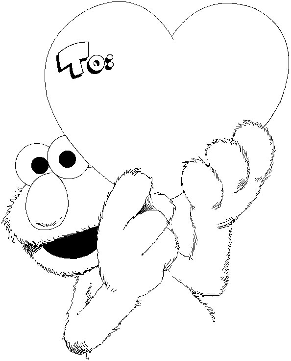 free valentine coloring pages for kids to color these blank pages  title=