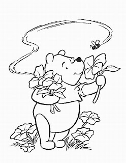 winnie the pooh disney thanksgiving coloring pages