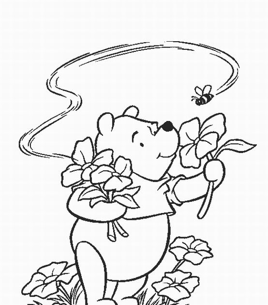Thanksgiving coloring pages disney thanksgiving coloring for Winnie the pooh thanksgiving coloring pages