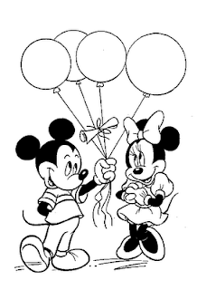 mickey minnie valentine coloring printables