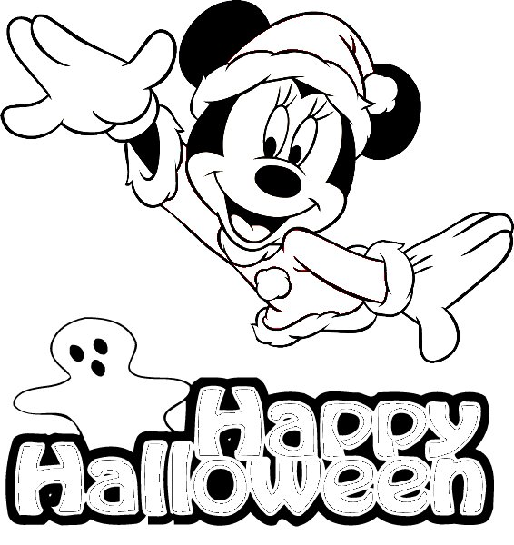 Free Coloring Pages Halloween Pages