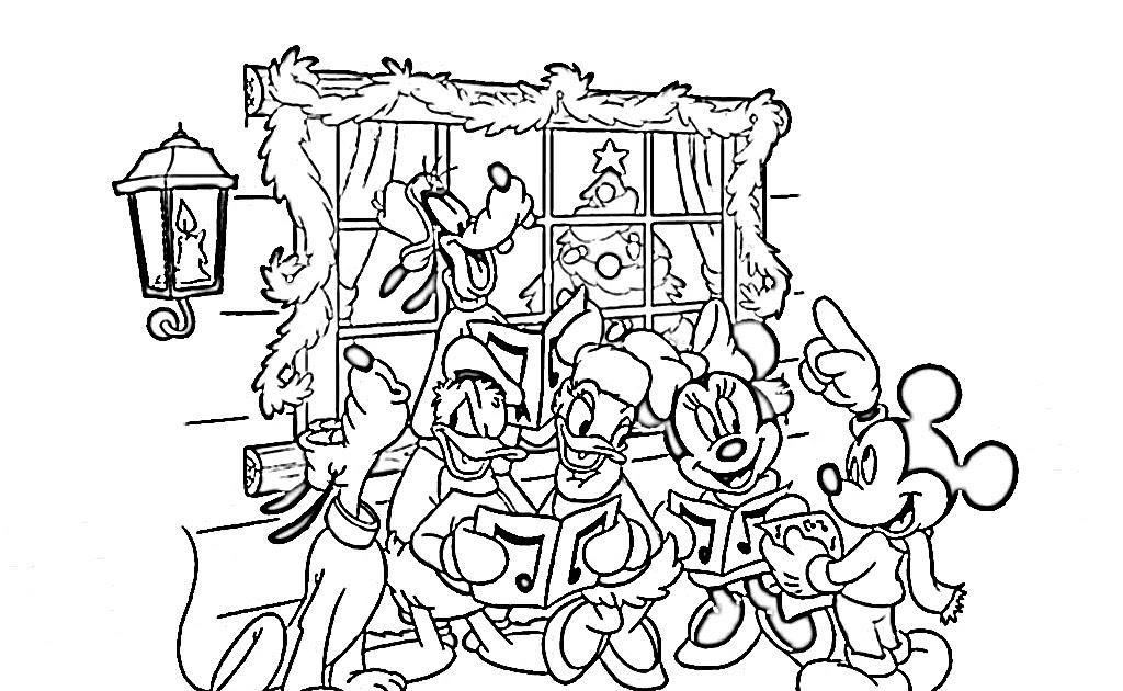 transmissionpress: Disney Christmas Coloring Pages, Disney Cartoon ...