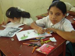 CONCURSO ESCOLAR DE DIBUJO SOBRE LOS PRIMATES DEL PERU