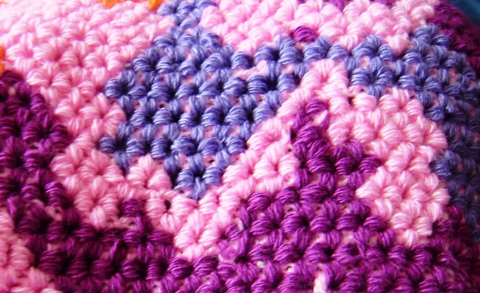 Вязание ковриков крючком по объемной схеме на филейной сетке 25