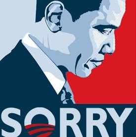 Obama so sorry