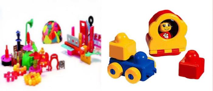pvc flexible:juguetes