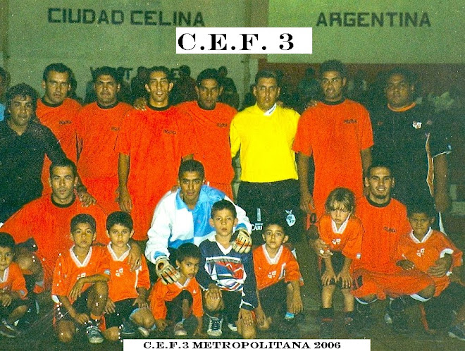 C.E.F 3 METROPOLITANA 2006