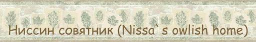 Ниссин совятник (Nissa`s owlish home)