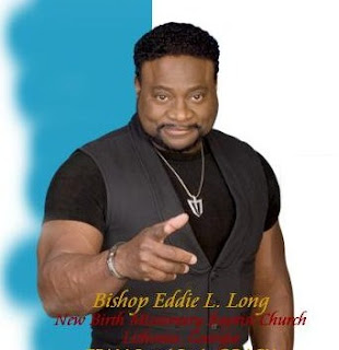 Eddie Long Lover's try and hit a Protestor