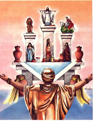 Congá ou Gongá = Altar