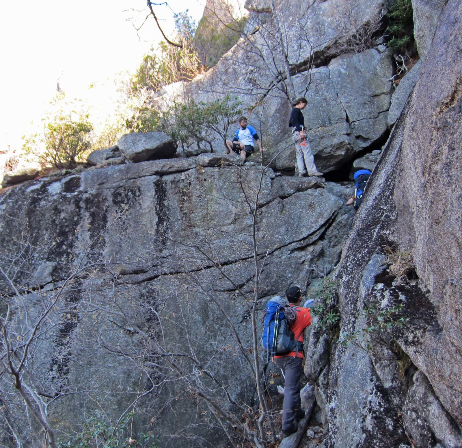 Old Rag Mountain Hikes/Patrols By RSL: November 2010