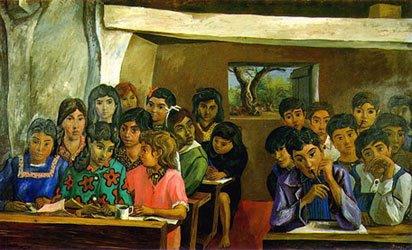 La escuelita rural/1956