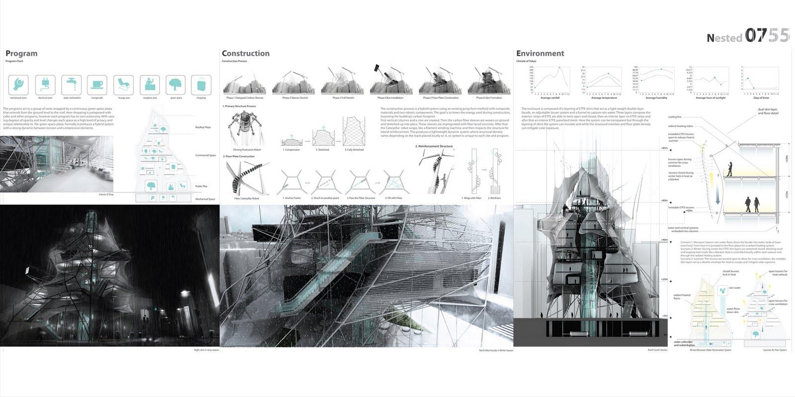 Link competencia ideas arquitectura rascacielos, o como