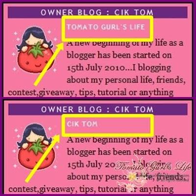 tomato gurl aka cik tom