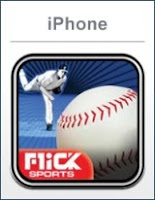 Flick Baseball Pro, iphone, game