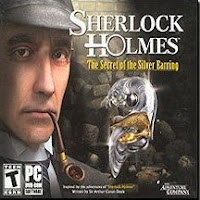 Adventures of Sherlock Holmes, The Silver Earring, box, art
