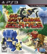 3D Dot Game Heroes, image, ps3, sony, screen, cover