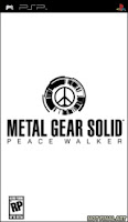 Metal Gear Solid, Peace Walker, box, art, cover, screen, image, psp, sony, game