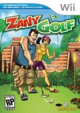 Zany Golf, nintendo, wii, game, screen