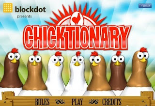 Chicktionary, game, ipad, screen, apple
