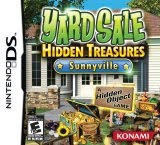 Yard Sale Hidden Treasures: Sunnyville, game, screen, image, nintendo, ds