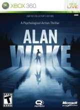Alan Wake, Limited Collector's Edition, box, art, image, screen