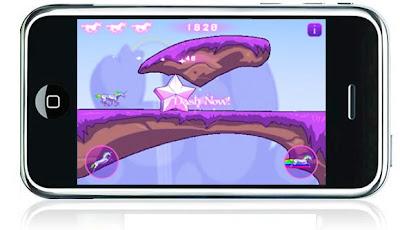 Robot Unicorn Attack, iphone, game, image