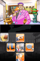 Phoenix Wright: Ace Attorney, game, screen, iphone