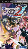 Phantasy Star Portable 2, psp, sony, game