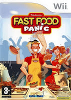 Fast Food Panic, wii, video, game
