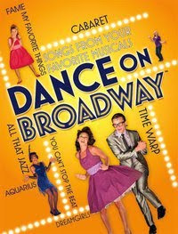 Dance On Broadway, track, list, wii, game, box, art, image
