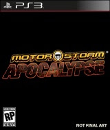 MotorStorm Apocalypse, ps3,game, box, art