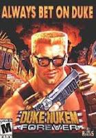 Duke Nukem Forever, pc, game, cover, box, art