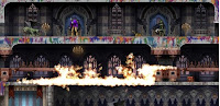 Castlevania: Harmony of Despair, xbox, game, screen