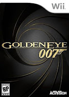 GoldenEye 007, James Bond, game, wii, nintendo, box, art, image