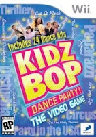 Kidz Bop Dance Party, nintendo, wii, game, box, art, image