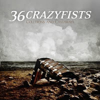 36 Crazyfists, Collisions and Castaways, new, album, cd