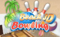 Beach Bowling 3D, iphone, game, screen, image