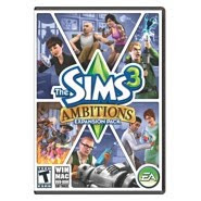 The Sims 3: Ambitions, iphone, apple, game, box, art, image