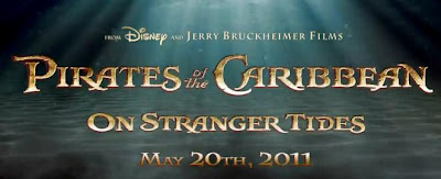 Pirates of the Caribbean 4,On Stranger Tides, 2011, movie, teaser, poster,