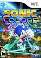 Sonic Colors, nintendo, wii, game