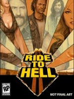 Ride to Hell, pc, game, box, art