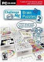 Challenge Me: Brain Puzzles 2, game, box, art, pc, ds, wii