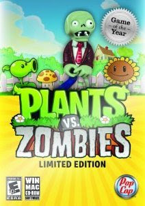 Plants vs. Zombies, limited, edition, pc, game, box, art